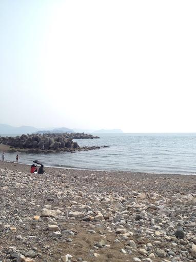 湯浅町の海